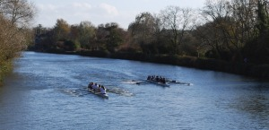 Victorious Alumni Boat
